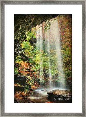 Falling Softly Framed Print by Darren Fisher