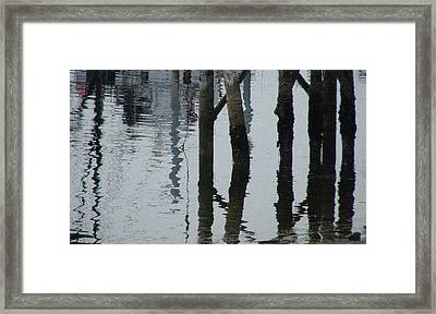 Falling Tide Framed Print