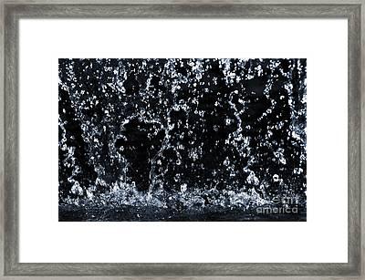 Falling Water Framed Print by Elena Elisseeva