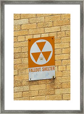 Fallout Shelter Framed Print by Nikki Marie Smith