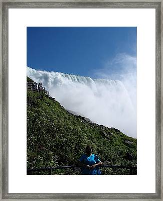Falls-6 Framed Print by Anand Swaroop Manchiraju