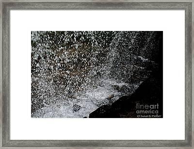 Fall's Backside Framed Print by Susan Herber