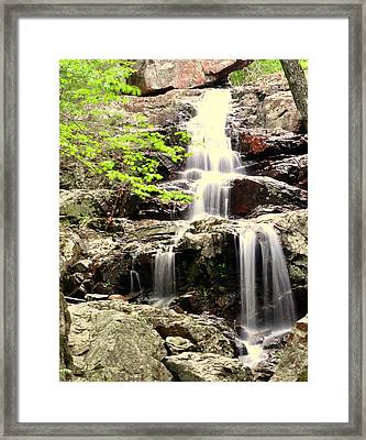 Falls Framed Print by Marty Koch