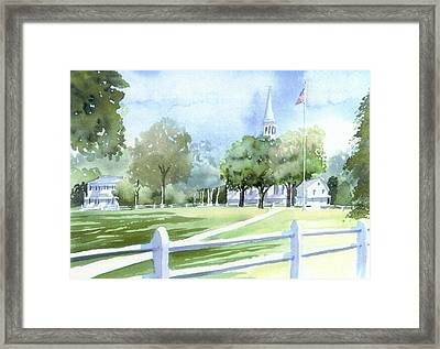 Falmouth Tranquility Framed Print by Joseph Gallant