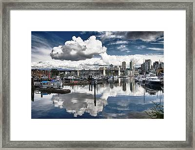 False Creek Vancouver Framed Print
