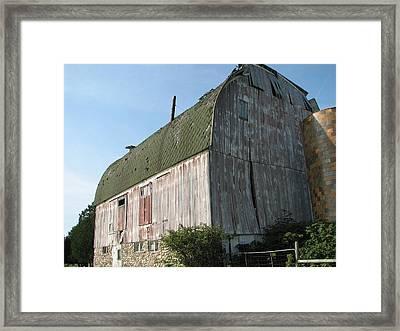 Family Barn Framed Print by Michelle Shull