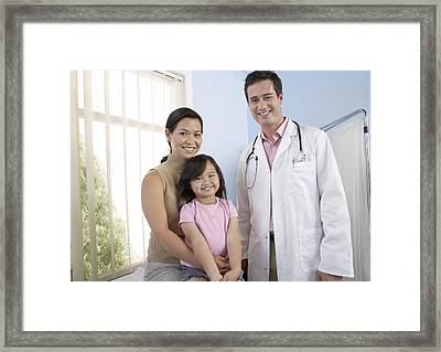 Family Doctor Framed Print by Adam Gault
