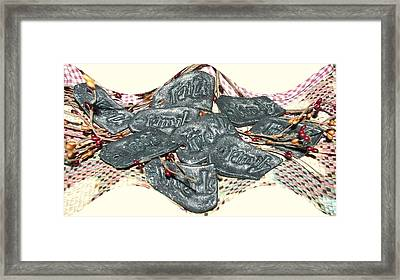Family Faith Friends Swag Framed Print