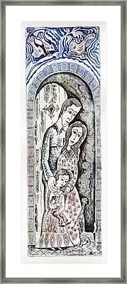 Family Framed Print by Milen Litchkov