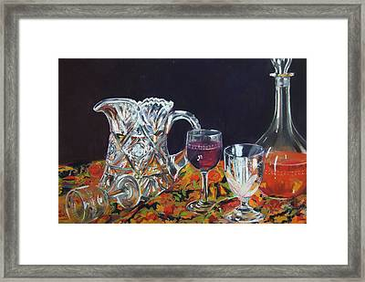 Family Ties Framed Print by Marie-Claire Dole