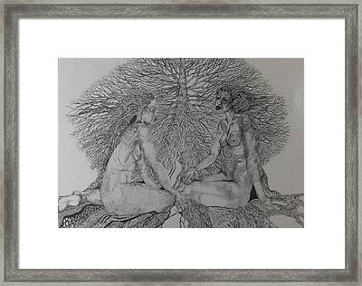 Family Tree Framed Print by Michol Childress