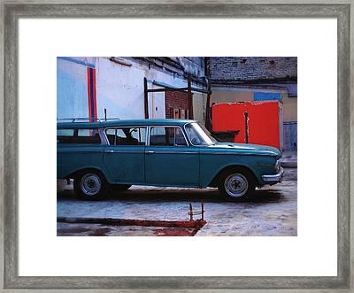 Family Truckster Framed Print by Skip Hunt