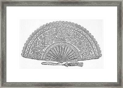 Fan, 1876 Framed Print by Granger