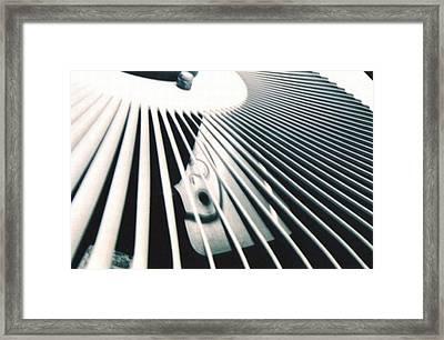 Fan Framed Print