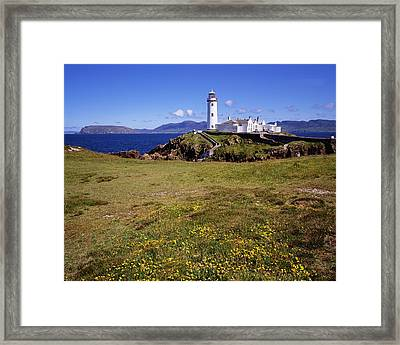 Fanad Lighthouse, Fanad Head, Co Framed Print