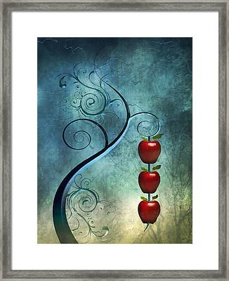 Fanciful Framed Print