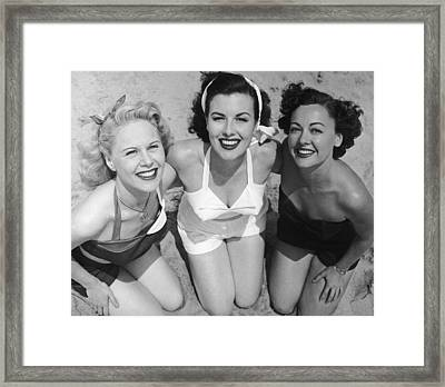 Fancy A Dip? Framed Print by Archive Photos