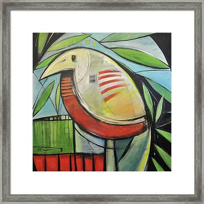 Fancy Bird Framed Print by Tim Nyberg