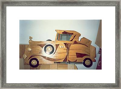 Fancy Car Framed Print