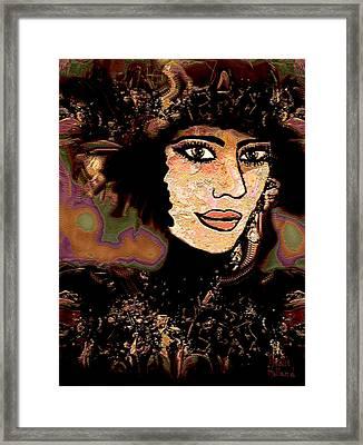 Fancy Hat Framed Print