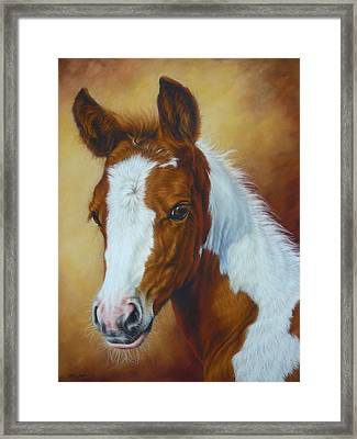 Fancy Portrait Framed Print