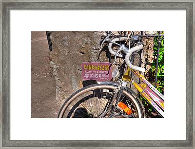 Fankadelik Framed Print by Barry R Jones Jr