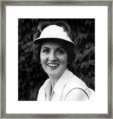 Fannie Flagg, Publicity Photo For Stay Framed Print