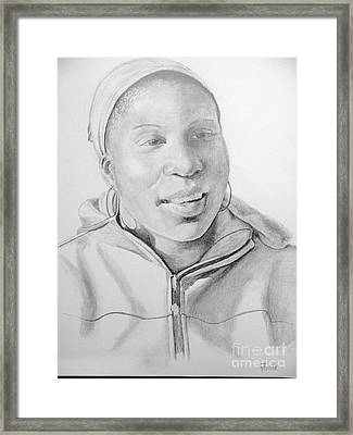 Fanta Framed Print by Margo Wolfe