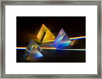 Framed Print featuring the photograph Fantastic Light 3 by Tad Kanazaki