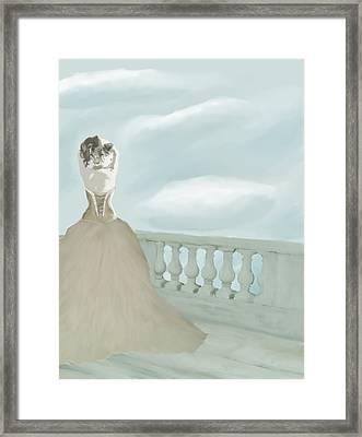 Fantasy Bride Framed Print