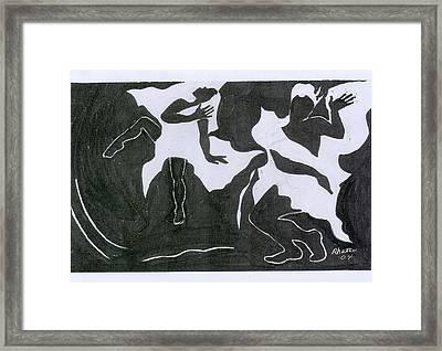 Fantasy Dance Framed Print by Rhetta Hughes