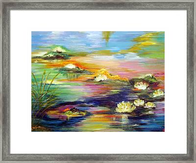 Fantasy Pond Framed Print