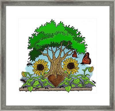 Fantasy Tree Framed Print