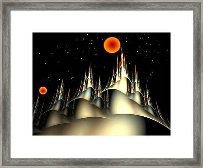 Fantasyland Framed Print by Richard Ortolano