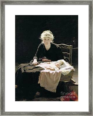 Fantine Framed Print by Margaret Hall