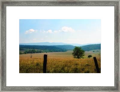 Far Afield  Framed Print by Ross Powell