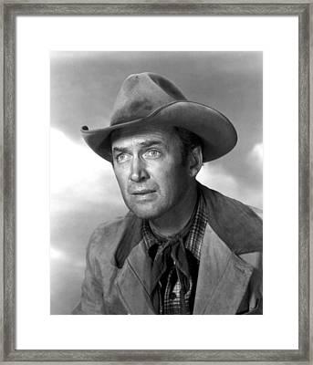 Far Country, The, James Stewart, 1955 Framed Print