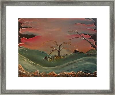 Far Far Away  Framed Print by Shadrach Ensor