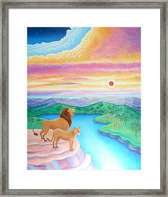 Far Horizons  Framed Print by Tracy Dennison