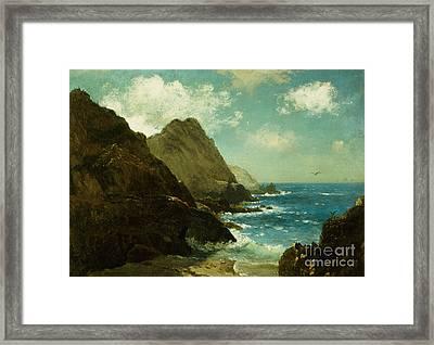 Farallon Islands Framed Print by Albert Bierstadt