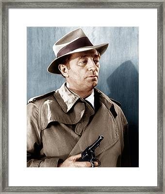 Farewell My Lovely, Robert Mitchum, 1966 Framed Print