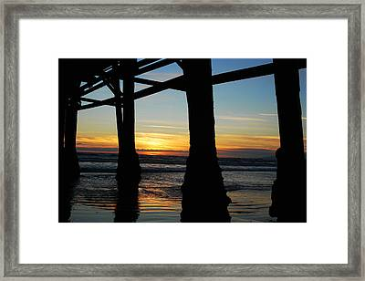 Farewell To The Sun Framed Print by Yulia