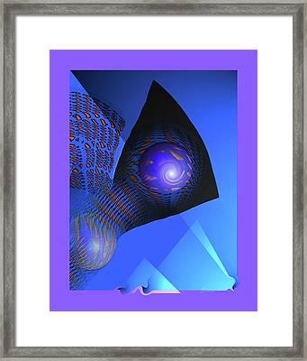 Farflow Framed Print by Charles Carlos Odom