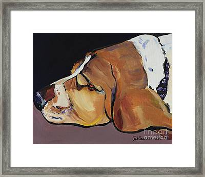 Farley Framed Print by Pat Saunders-White