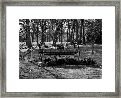 Farm Antique Framed Print by Karen Harrison