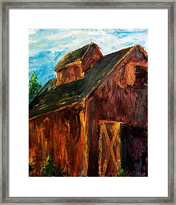 Farm Barn Framed Print