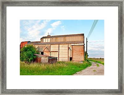 Farm Building Framed Print by Tom Gowanlock