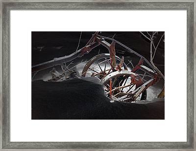 Farm Finds Framed Print by Cyryn Fyrcyd