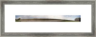 Farm Land Framed Print