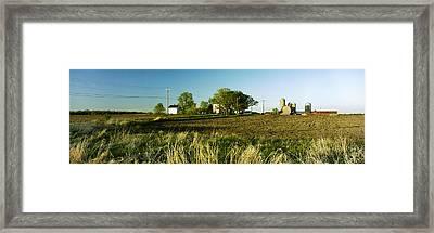 Farm On Nn Framed Print by Jan W Faul